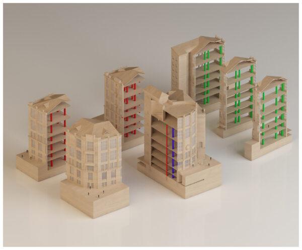 ArchitecturalModel_BlueScale_NJYStudio_Axo