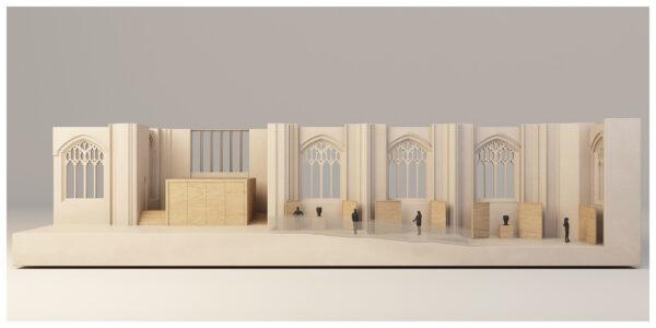 ArchitecturalModel_BlueScale_NJYStudio_Sectional