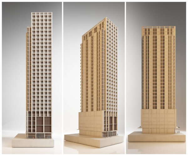 ArchitecturalModel_BlueScale_NJYStudio_Whiteplaster