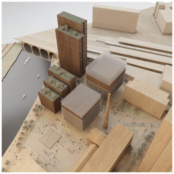 ArchitecturalModel_BlueScale_NJYStudio_Wood